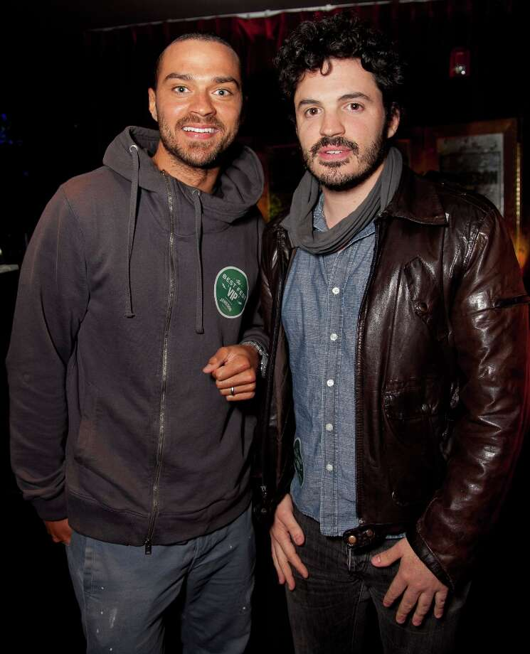 Actor Jesse Williams (L) and guest attend the first ever Jameson Petty Fest West at El Rey Theatre on November 14, 2012 in Los Angeles, California.  (Photo by Imeh Akpanudosen/Getty Images For Jameson) Photo: Imeh Akpanudosen, Getty Images For Jameson / 2012 Getty Images