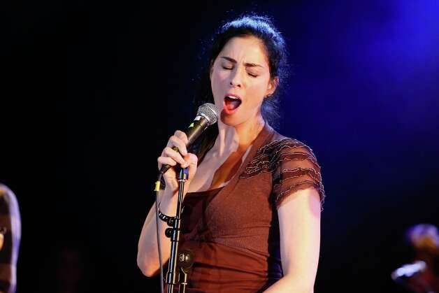 Comedian Sarah Silverman turns 42. Photo: Imeh Akpanudosen, Getty Images For Jameson / 2012 Getty Images