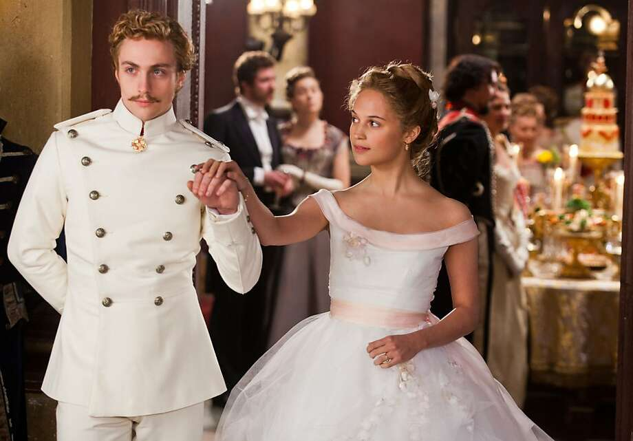 "Aaron Taylor-Johnson in ""Anna Karenina"": It's hard to forget his ""Kick-Ass"" role. Photo: Focus Features"