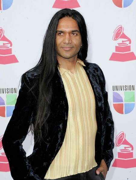 Actor Anand Bhatt arrives at the 13th annual Latin GRAMMY Awards held at the Mandalay Bay Events Cen