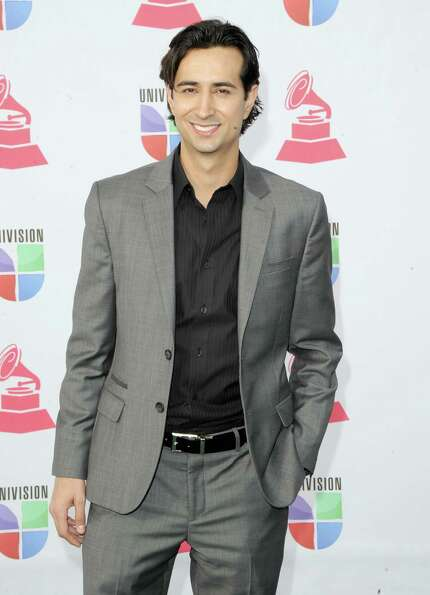 Enrique Arbelaez arrives at the 13th annual Latin GRAMMY Awards held at the Mandalay Bay Events Cent