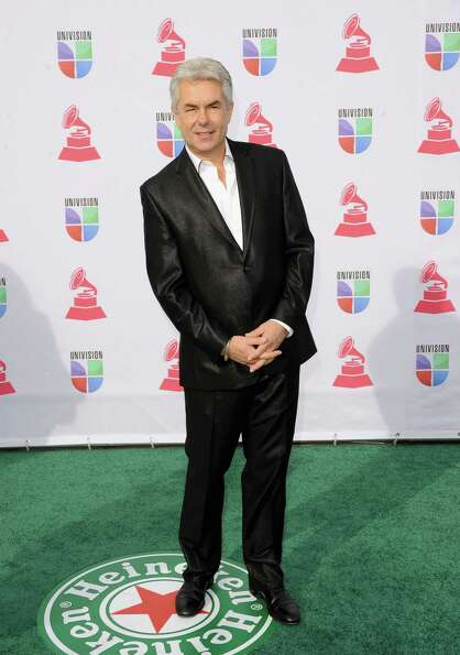 Musician Gregg Field arrives at the 13th annual Latin GRAMMY Awards held at the Mandalay Bay Events