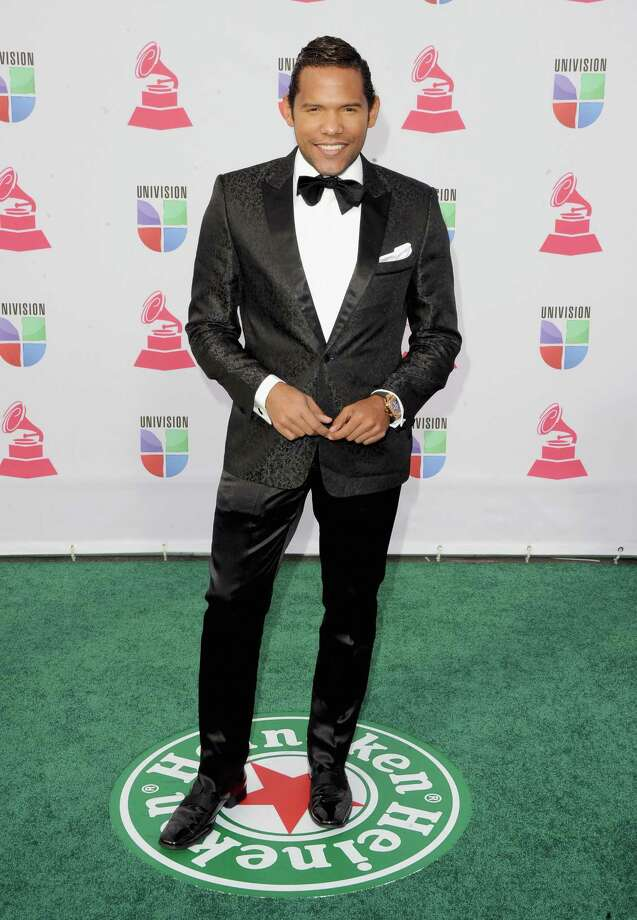 """El Fashion Guru"" Carlos Mejia arrives at the 13th annual Latin GRAMMY Awards held at the Mandalay Bay Events Center on November 15, 2012 in Las Vegas, Nevada. Photo: Jason Merritt, Getty Images / 2012 Getty Images"