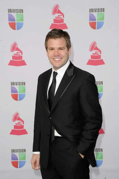 Mike Foley arrives at the 13th annual Latin GRAMMY Awards held at the Mandalay Bay Events Center on
