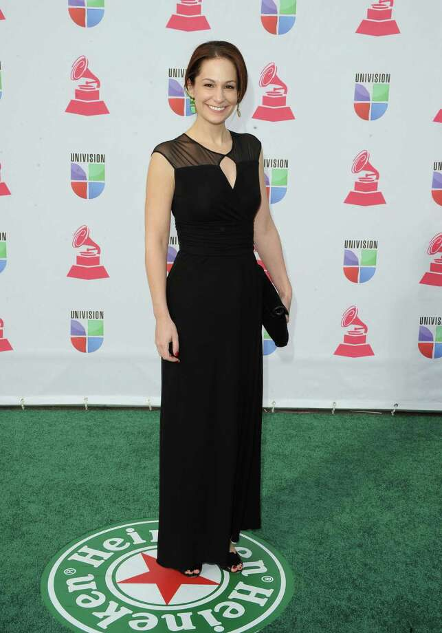 Amanda Knauer arrives at the 13th annual Latin GRAMMY Awards held at the Mandalay Bay Events Center on November 15, 2012 in Las Vegas, Nevada. Photo: Jason Merritt, Getty Images / 2012 Getty Images