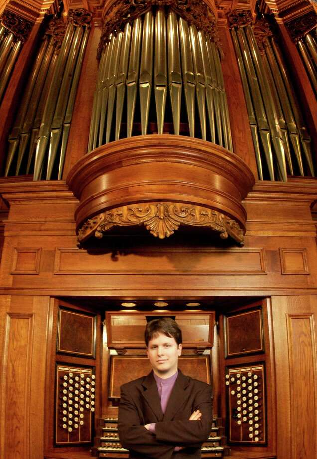 Organist Paul Jacobs Photo: Courtesy Paul Jacobs