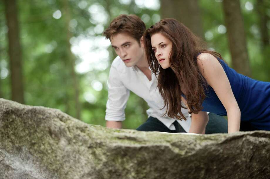 "The relationship of Edward (Robert Pattinson) and Bella (Kristen Stewart) reaches a different level in ""The Twilight Saga: Breaking Dawn - Part 2."" Photo: Doane Gregory, Handout / ONLINE_YES"