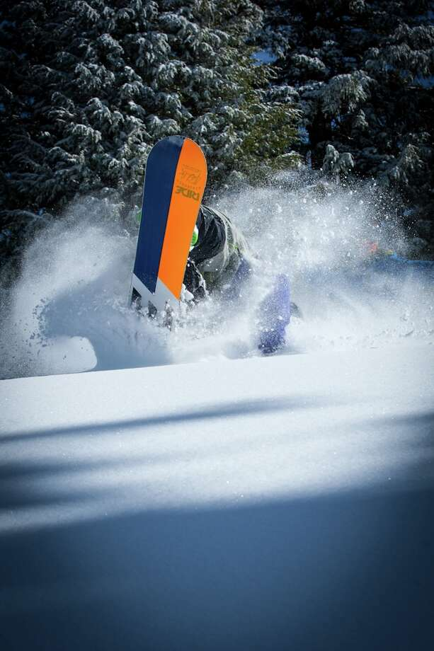 Powder! For opening week?? 'Twas true. (Courtesy: Mammoth)