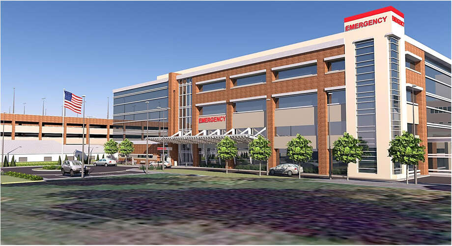 Rendering showing planned improvements to Samaritan Hospital in Troy, N.Y.