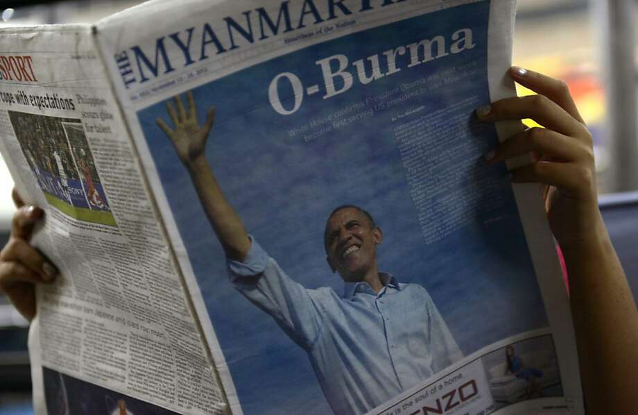 President Obama is set to visit Burma in a few days. Photo: Str, AFP/Getty Images