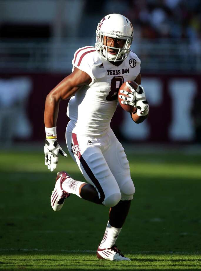Wide receiver Thomas Johnson, who disappeared for two days in November, has withdrawn from Texas A&M. Photo: Dave Martin, Associated Press / AP