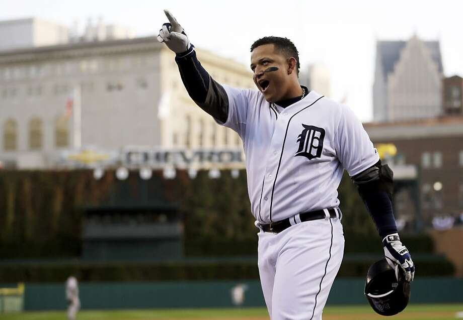 Miguel Cabrera built a strong statistical case by achieving the first Triple Crown in 45 years. Photo: Matt Slocum, Associated Press