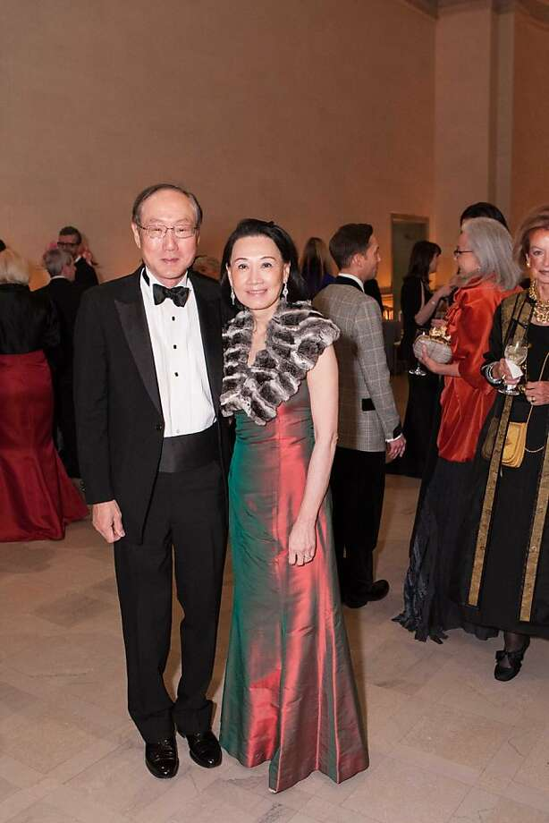 Mike Chan and Iris Chan are among the distinguished guests at the Legion of Honor on Nov. 14. Photo: Drew Altizer Photography, Heather Wiley For Drew Altizer P