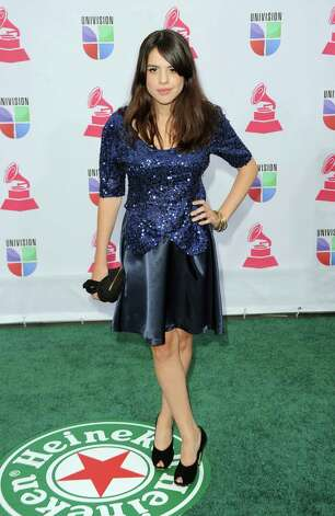 Singer Rosario Ortega arrives at the 13th annual Latin GRAMMY Awards held at the Mandalay Bay Events Center on November 15, 2012 in Las Vegas, Nevada. Photo: Jason Merritt, Getty Images / 2012 Getty Images