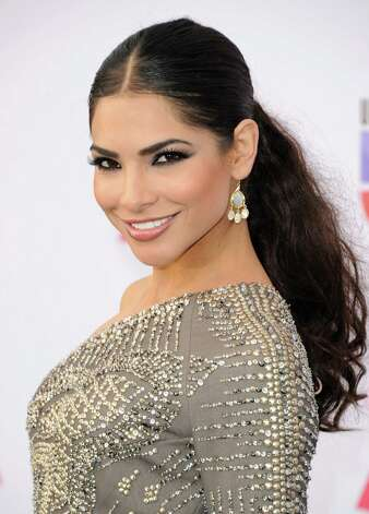 Model Alejandra Espinoza arrives at the 13th annual Latin GRAMMY Awards held at the Mandalay Bay Events Center on November 15, 2012 in Las Vegas, Nevada. Photo: Jason Merritt, Getty Images / 2012 Getty Images