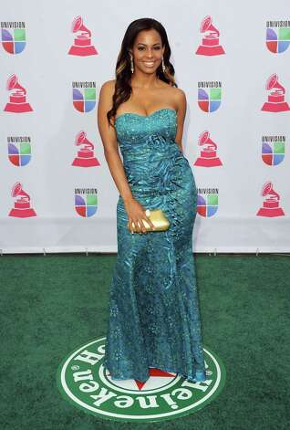 Model Carolina Catalino arrives at the 13th annual Latin GRAMMY Awards held at the Mandalay Bay Events Center on November 15, 2012 in Las Vegas, Nevada. Photo: Jason Merritt, Getty Images / 2012 Getty Images