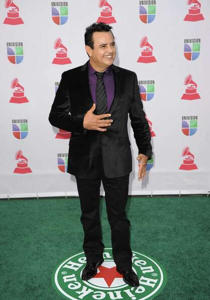 Composer Benny Camacho arrives at the 13th annual Latin GRAMMY Awards held at the Mandalay Bay Event