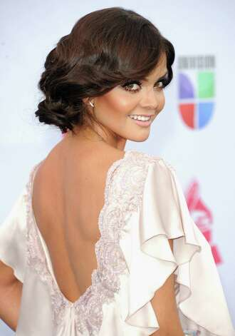 Mexican television personality Marisol Gonzalez arrives at the 13th annual Latin GRAMMY Awards held at the Mandalay Bay Events Center on November 15, 2012 in Las Vegas, Nevada. Photo: Jason Merritt, Getty Images / 2012 Getty Images
