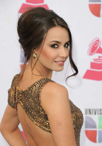 Actress Odalys Garcia arrives at the 13th annual Latin GRAMMY Awards held at the Mandalay Bay Events