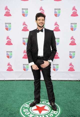 Musician Maycon Ananias arrives at the 13th annual Latin GRAMMY Awards held at the Mandalay Bay Events Center on November 15, 2012 in Las Vegas, Nevada. Photo: Jason Merritt, Getty Images / 2012 Getty Images