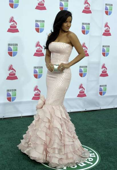 Massiel arrives for the 13th Annual Latin Grammy Awards on November 15, 2012 in Las Vegas, Nevada.