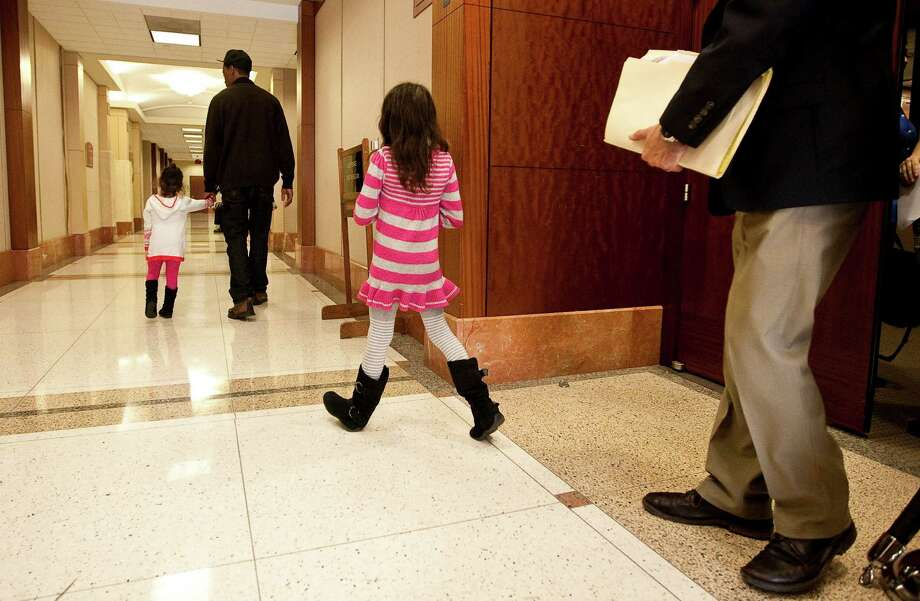 A 7-year-old girl testified Thursday that Jessica Tata once left sleeping children by themselves at her day care while she went to get take-out food. Photo: Nick De La Torre, Staff / © 2012  Houston Chronicle
