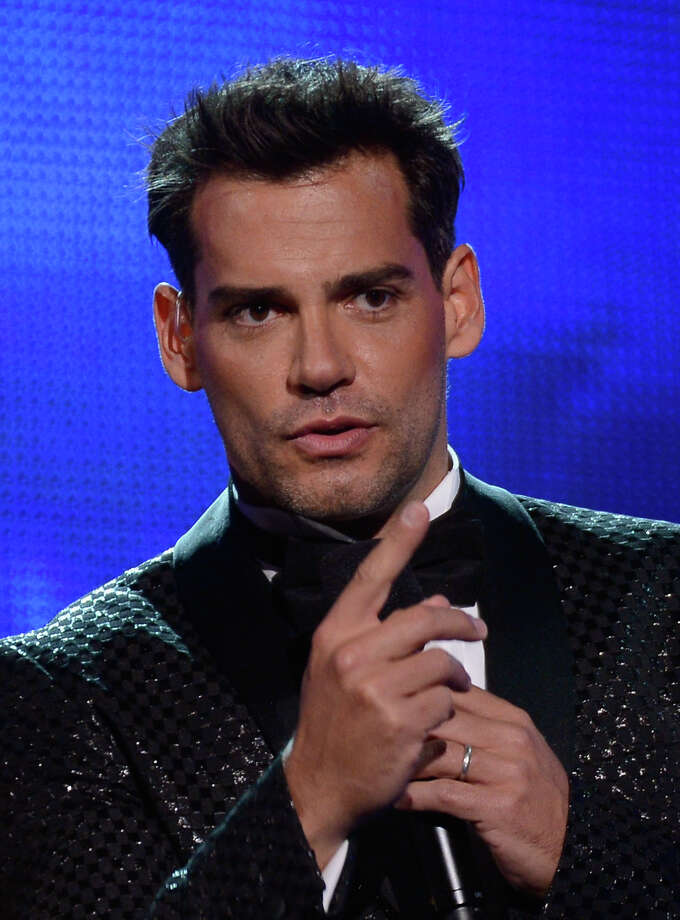 Host Cristian de la Fuente speaks onstage during the 13th annual Latin GRAMMY Awards held at the Mandalay Bay Events Center on November 15, 2012 in Las Vegas, Nevada. Photo: Kevork Djansezian, Getty Images / 2012 Getty Images