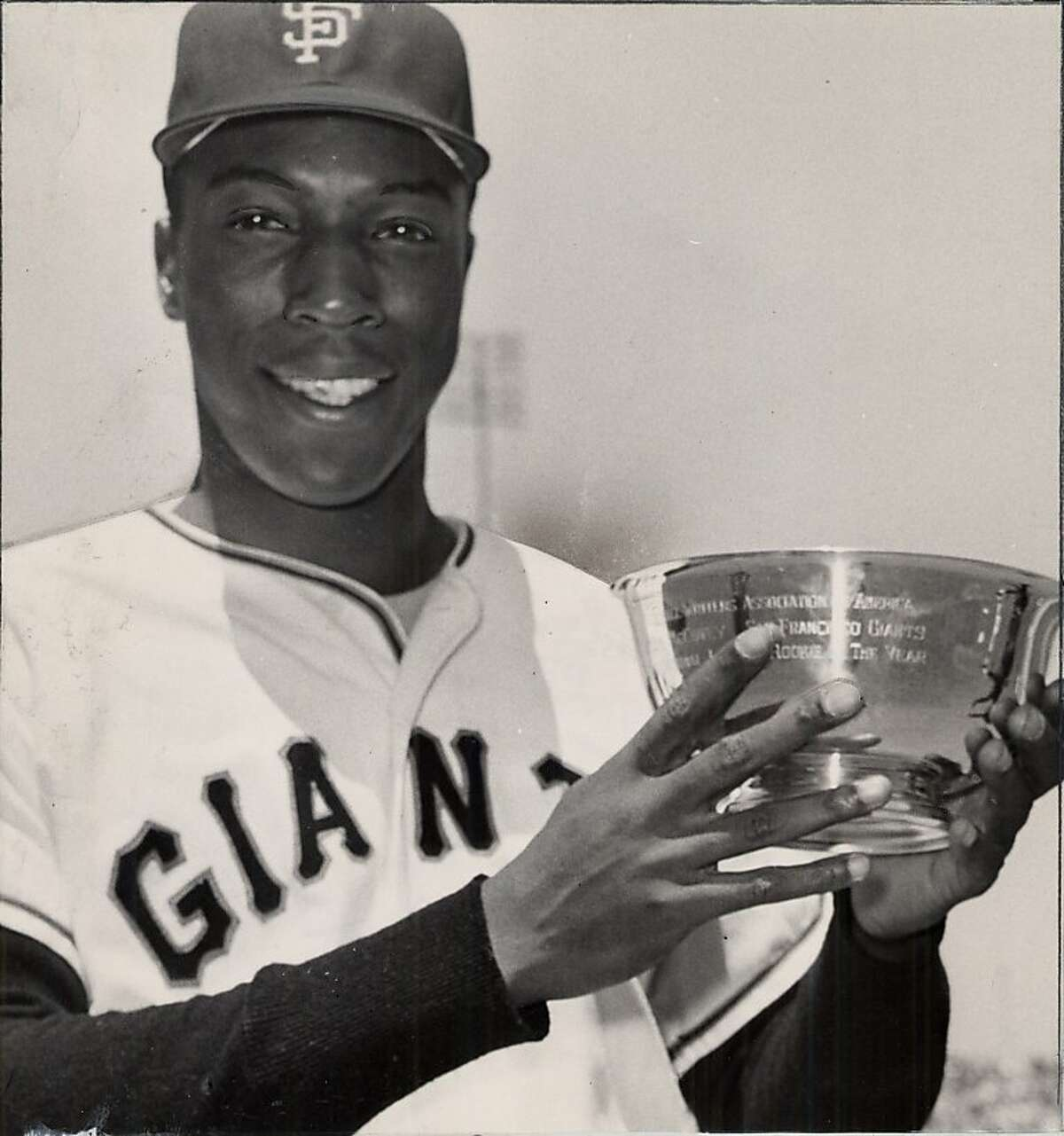 The legendary Willie McCovey of San Francisco Giants in 1960.