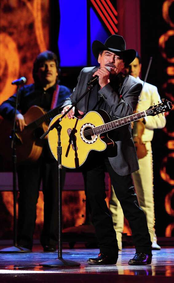 Joan Sebastian performs during the 13th Annual Latin Grammy show on November 15, 2012 in Las Vegas, Nevada.    AFP PHOTO/Robyn BECKROBYN BECK/AFP/Getty Images Photo: ROBYN BECK, Getty Images / AFP