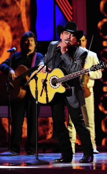 Joan Sebastian performs during the 13th Annual Latin Grammy show on November 15, 2012 in Las Vegas,