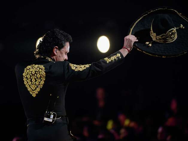 Recording artist Pedro Fernandez performs onstage during the 13th annual Latin GRAMMY Awards held at the Mandalay Bay Events Center on November 15, 2012 in Las Vegas, Nevada. Photo: Kevork Djansezian, Getty Images / 2012 Getty Images