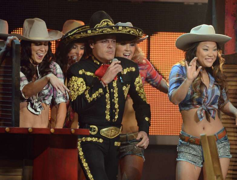 Recording artist Pedro Fernandez performs onstage during the 13th annual Latin GRAMMY Awards held at