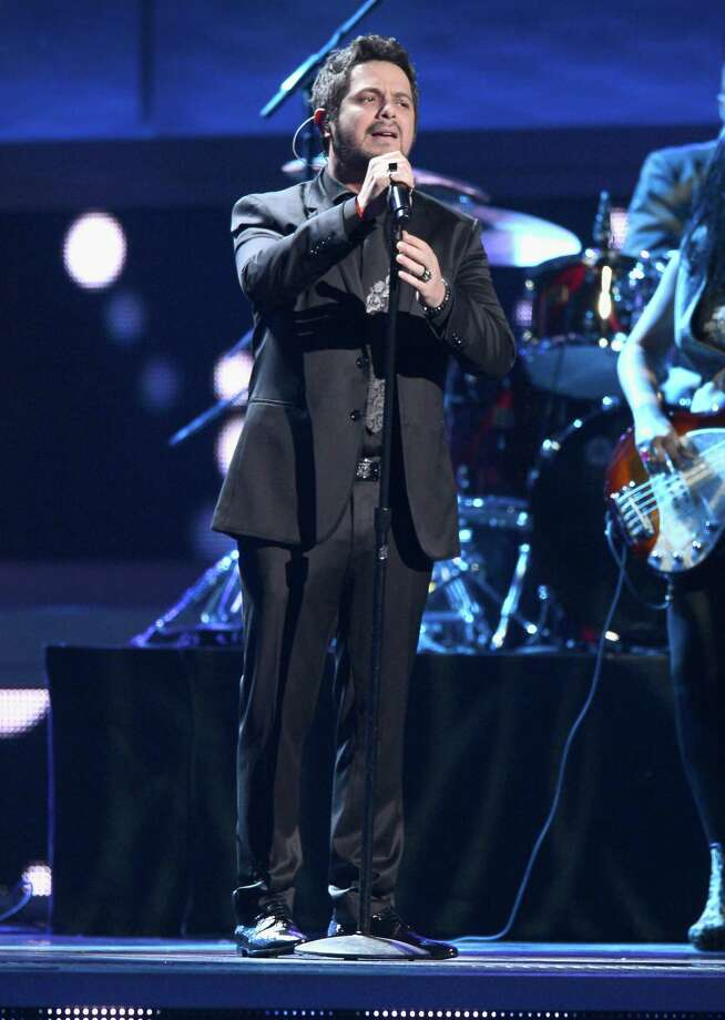 Singer Alejandro Sanz performs onstage during the 13th annual Latin GRAMMY Awards held at the Mandalay Bay Events Center on November 15, 2012 in Las Vegas, Nevada. Photo: Kevork Djansezian, Getty Images / 2012 Getty Images