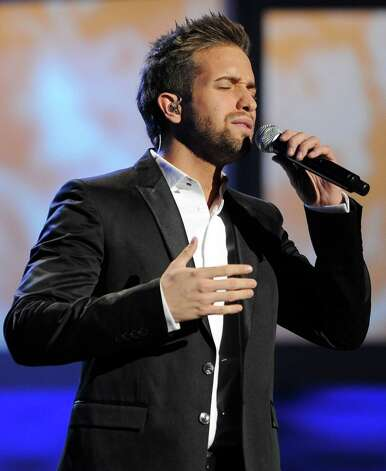"Pablo Alboran performs ""Perdoname"" at the 13th Annual Latin Grammy Awards at Mandalay Bay on Thursday, Nov. 15, 2012, in Las Vegas. (Photo by Al Powers/Powers Imagery/Invision/AP) Photo: Al Powers, Associated Press / Invision"