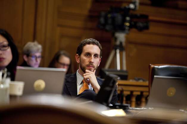 Scott Wiener's bill to ban public nudity stirred up a lot of argument and publicity. Photo: Jason Henry, Special To The Chronicle