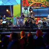 Singer Juan Luis Guerra performs onstage during the 13th annual Latin GRAMMY Awards held at the Mandalay Bay Events Center on November 15, 2012 in Las Vegas, Nevada.