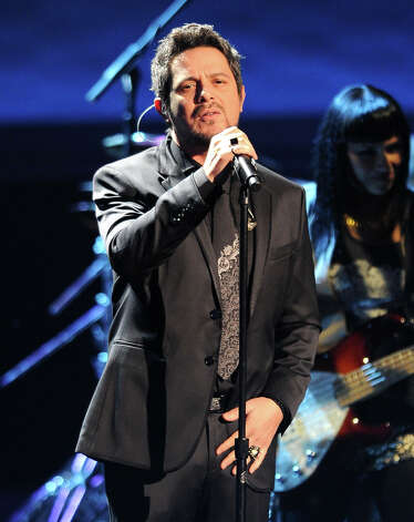 "Alejandro Sanz performs ""No Me Compares"" at the 13th Annual Latin Grammy Awards at Mandalay Bay on Thursday, Nov. 15, 2012, in Las Vegas. (Photo by Al Powers/Powers Imagery/Invision/AP) Photo: Al Powers, Associated Press / Invision"