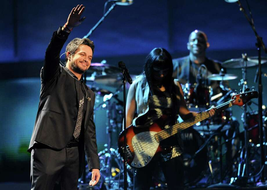 "Alejandro Sanz performs ""No Me Compares"" at the 13th Annual Latin Grammy Awards at Mandalay Bay on Thursday Nov. 15, 2012, in Las Vegas. (Photo by Al Powers/Powers Imagery/Invision/AP) Photo: Al Powers, Associated Press / Invision"