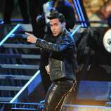 Prince Royce perform during the 13th Annual Latin Grammy show on November 15, 2012 in Las Vegas, Nevada.    AFP PHOTO/Robyn BECKROBYN BECK/AFP/Getty Images