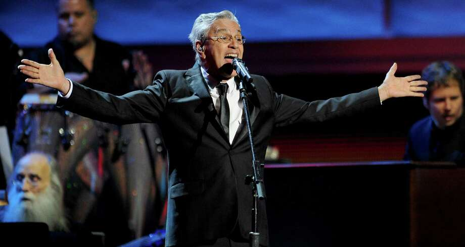 Caetano Veloso performs at the 13th Annual Latin Grammy Awards at Mandalay Bay on Thursday, Nov. 15, 2012, in Las Vegas. (Photo by Al Powers/Powers Imagery/Invision/AP) Photo: Al Powers, Associated Press / Invision