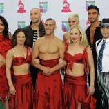 Performs from Le Reve arrive at the 13th Annual Latin Grammy Awards at Mandalay Bay on Thursday, Nov. 15, 2012, in Las Vegas. (Photo by Brenton Ho/Powers Imagery/Invision/AP)