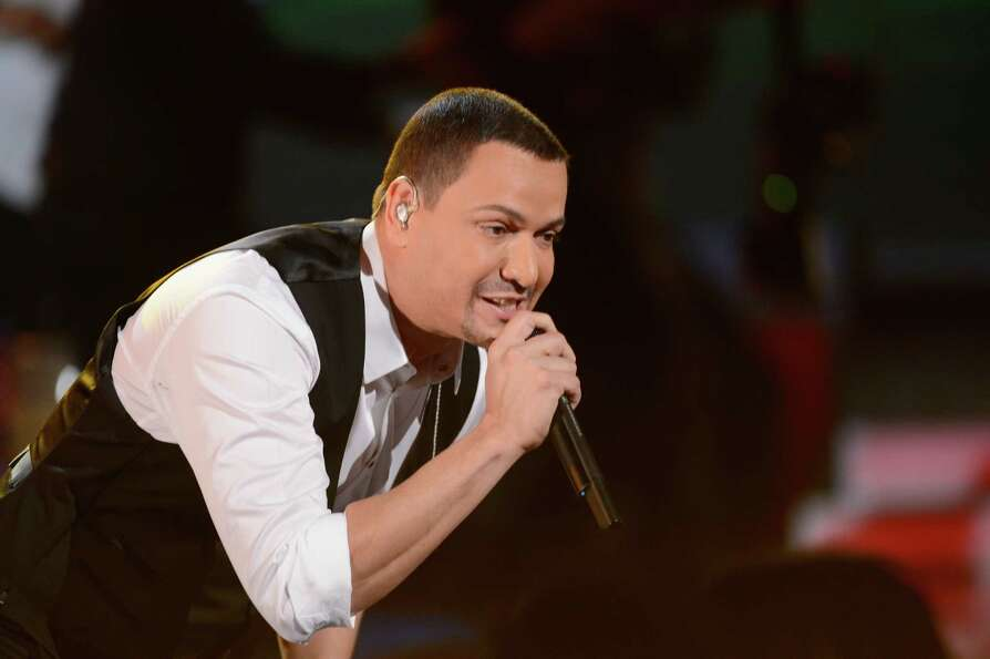 Singer Juan Magan onstage during the 13th annual Latin GRAMMY Awards held at the Mandalay Bay Events
