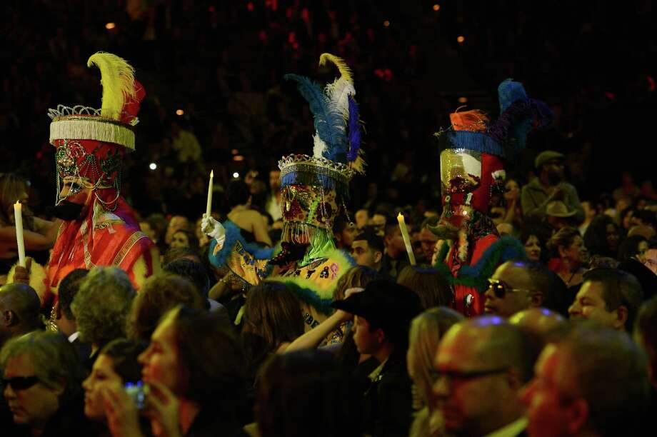 General view of atmosphere during the 13th annual Latin GRAMMY Awards held at the Mandalay Bay Events Center on November 15, 2012 in Las Vegas, Nevada. Photo: Kevork Djansezian, Getty Images / 2012 Getty Images