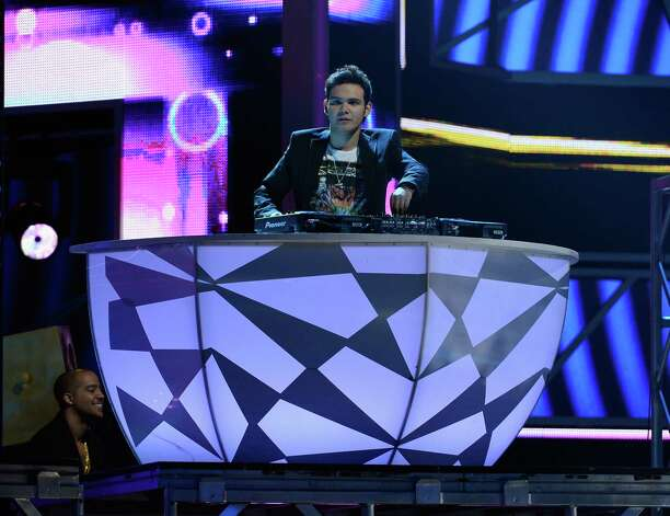 Alberto 'DJ Otto' Presenda of 3Ball MTY performs onstage during the 13th annual Latin GRAMMY Awards held at the Mandalay Bay Events Center on November 15, 2012 in Las Vegas, Nevada. Photo: Kevork Djansezian, Getty Images / 2012 Getty Images