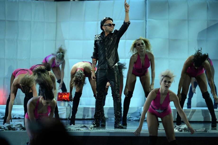 Singer Sensato performs onstage during the 13th annual Latin GRAMMY Awards held at the Mandalay Bay Events Center on November 15, 2012 in Las Vegas, Nevada. Photo: Kevork Djansezian, Getty Images / 2012 Getty Images