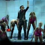 Singer Sensato performs onstage during the 13th annual Latin GRAMMY Awards held at the Mandalay Bay Events Center on November 15, 2012 in Las Vegas, Nevada.