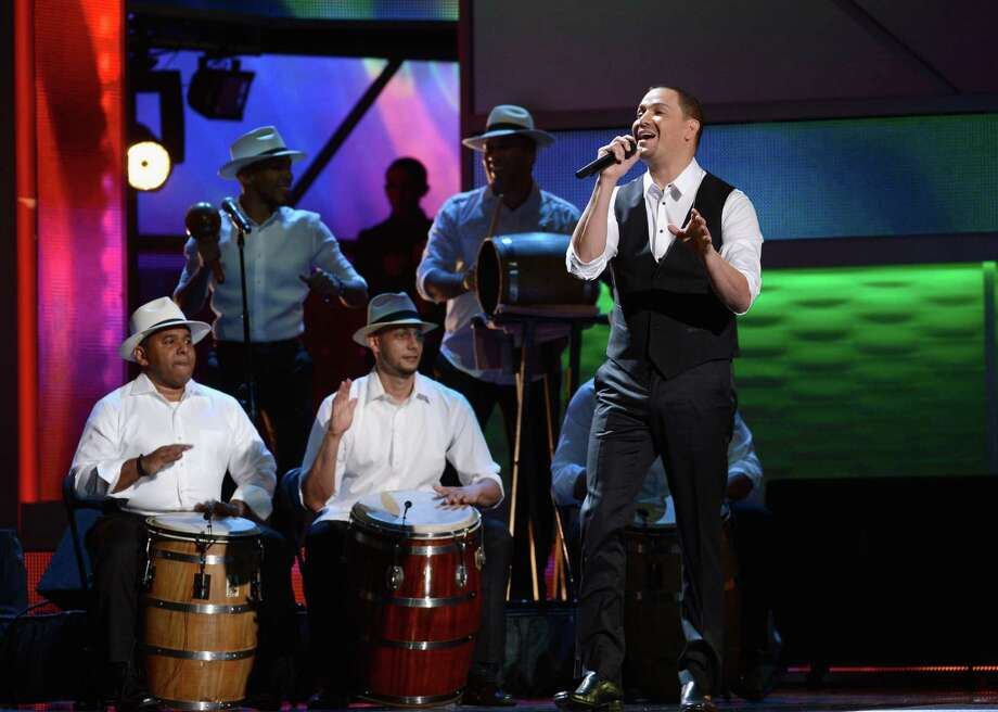 Singer Juan Magan onstage during the 13th annual Latin GRAMMY Awards held at the Mandalay Bay Events Center on November 15, 2012 in Las Vegas, Nevada. Photo: Kevork Djansezian, Getty Images / 2012 Getty Images