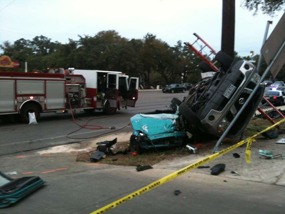 According to police, the driver of a Honda T-boned a truck that was turning into the Salado Crossing Apartments in the 13000 block of Blanco on Nov. 15, 2012.