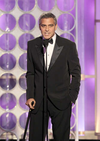 George Clooney -- kind of like Gable, the cool man of our time, sometimes first, sometimes second or third, always in the top ten. Photo: Handout, Getty Images / 2012 NBC
