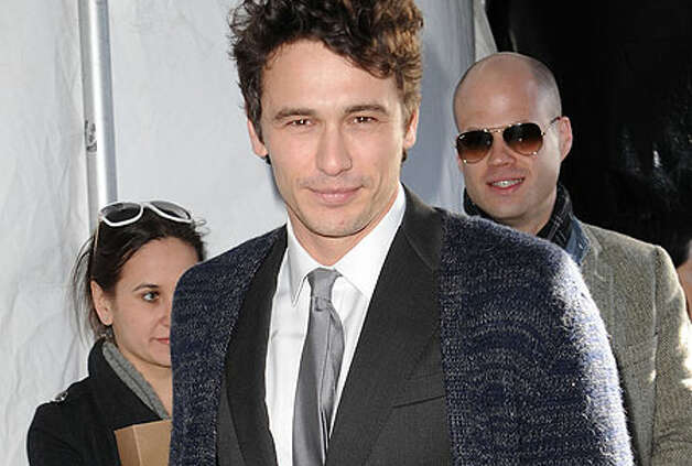 As is James Franco, the last name on our list. / 2011 Getty Images